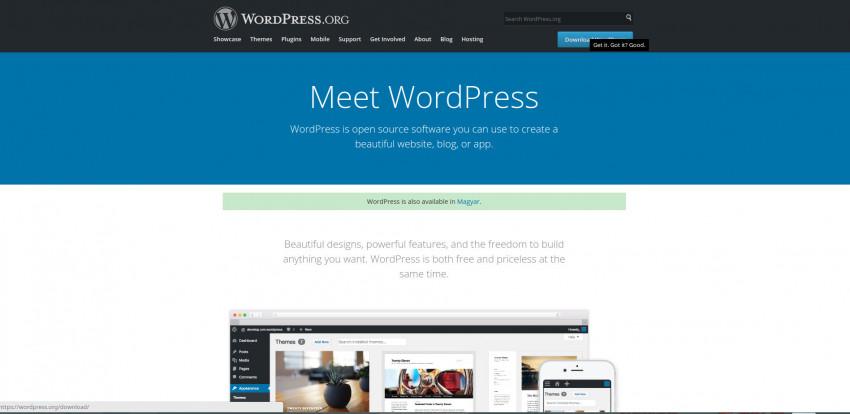 Mondd, te kit választanál? - Wordpress, Drupal, esetleg Joomla_3