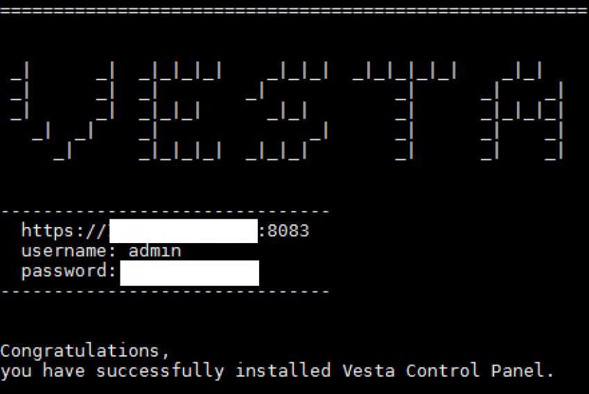 Fejlesztői környezet - egy lehetőség Vesta Control Panel_2